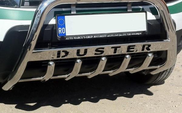 BullBar inox Dacia Duster 2018-