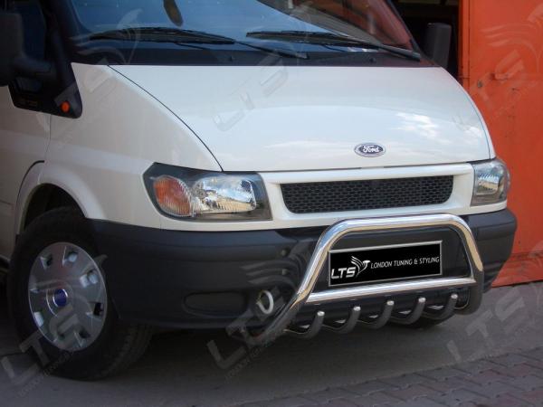 BullBar inox Ford Transit 2000-2006