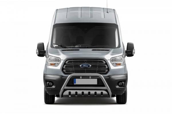 BullBar inox Ford Transit 2015-