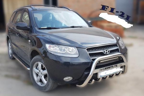 Bullbar inox Hyundai Santa Fe 2007 - 2013