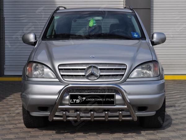 BullBar inox Mercedes ML 1998-2006