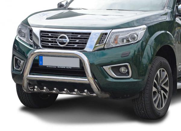 BullBar inox Nissan Navara 2006-2015