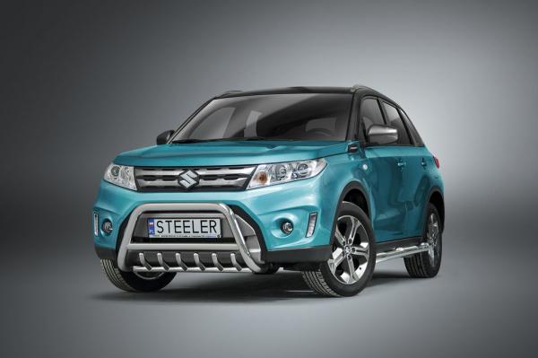 BullBar inox Suzuki Vitara 2016-