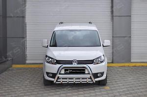 BullBar inox Volkswagen Caddy 2009-2015