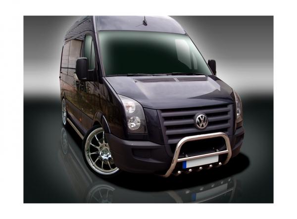 BullBar inox Volkswagen Crafter 2007-2012