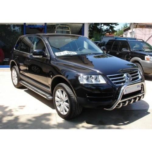 BullBar inox Volkswagen Touareg 2004-2010