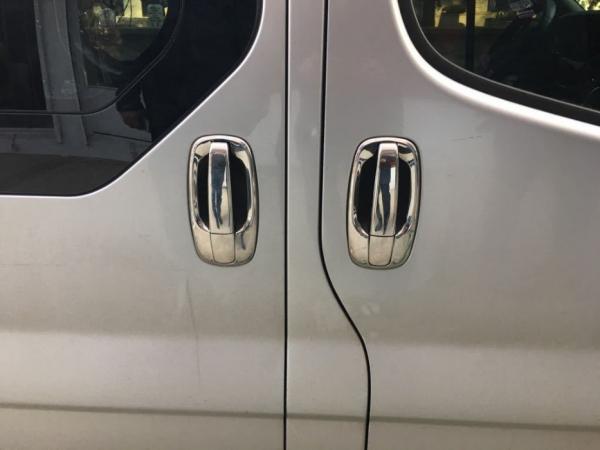 Decor manere inox Opel Vivaro 2001 - 2014