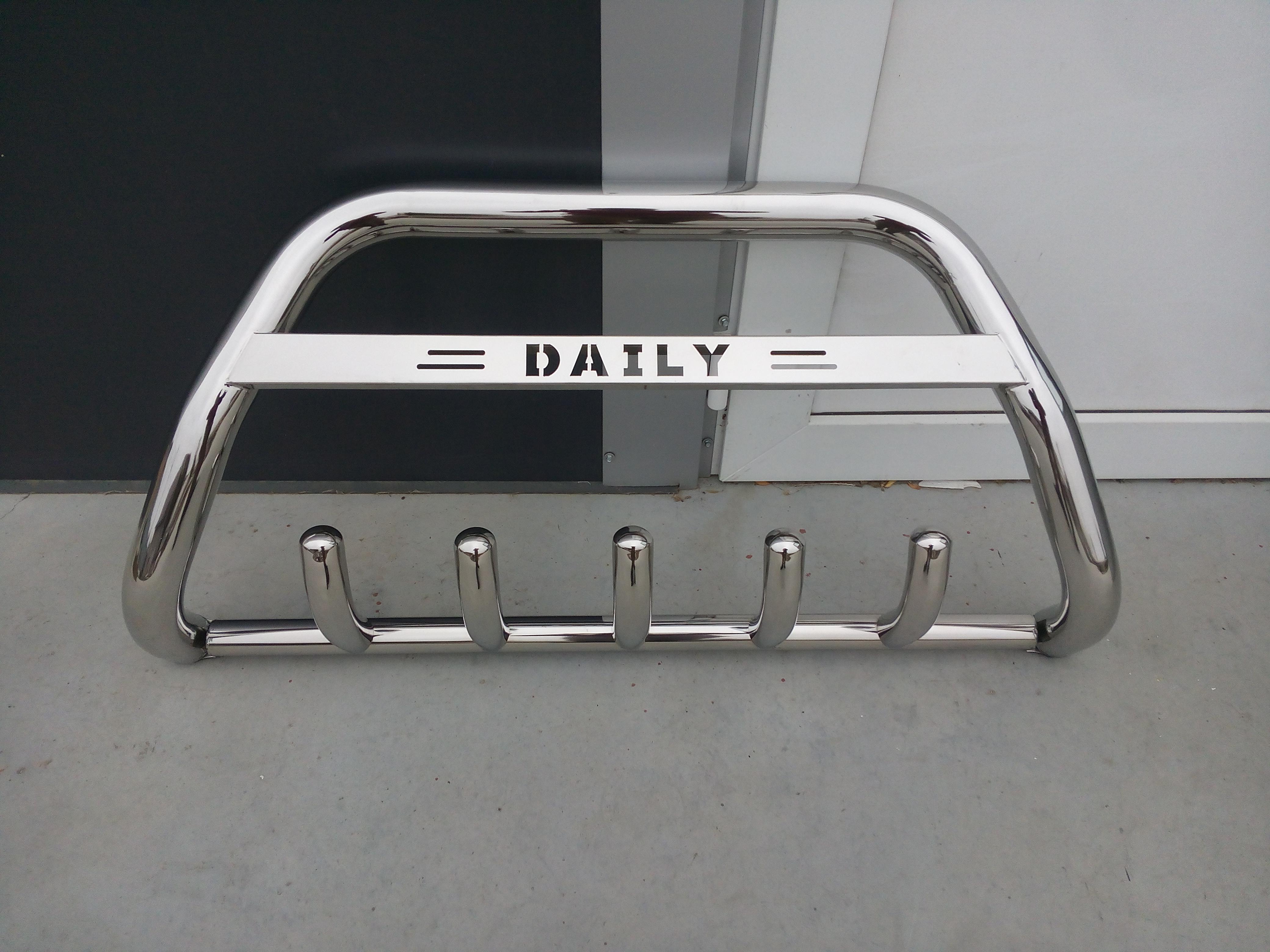 Bullbar inox Iveco Daily 2014-2018 0